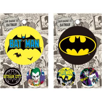 バットマン 缶バッジ -1