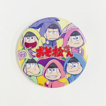 おそ松さんの缶バッジ7種セット -1